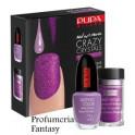 Pupa Nail Art Mania Crazy Crystals 02 Fluo Violet Smalto Brillante Lasting color
