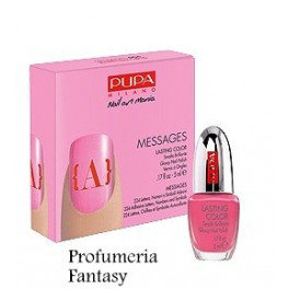 Pupa Nail Art Mania Messages 04 Pink Smalto Brillante Lasting color
