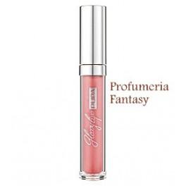 Pupa Glossy Lips 200 Chiffon Pink Nude Gloss brillantezza estrema, effetto smalto sulle labbra.