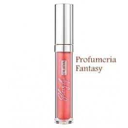 Pupa Glossy Lips 400 Golden Orange Illusion Gloss brillantezza estrema, effetto smalto sulle labbra.