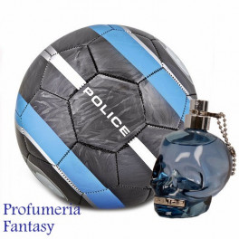 Police to Be (or not to be) Soccer Ball Gift Set Eau de Toilette ml.125 4.2 Fl. Oz. + Pallone da calcio