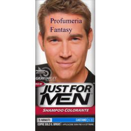 JUST FOR MEN SHAMPOO COLORANTE CASTANO H-30