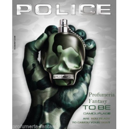 Police Profumi To Be Camouflage Eau de Toilette ml.125 4.2 Fl.Oz Spray