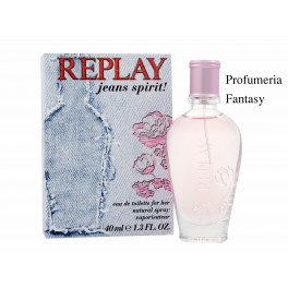 Replay Profumi Replay Jeans Spirit For Her Eau de Toilette ml.60 2.0 Fl.Oz Spray