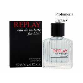 Replay Profumi Replay For Him Eau de Toilette ml.50 1.6 Fl.Oz Spray