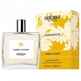 Deborah Milano Fragrances Amber Flower For Her Eau de Toilette ml.100 3.38 fl.OZ Spray Pour Femme Profumi
