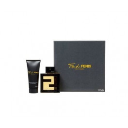 Fendi Fan di Fendi Pour Homme Eau de Toilette Ml.100 3.4 Fl.OZ Spray + Shower Gel Ml.100
