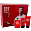 Cristiano Ronaldo CR7 Eau de Toilette ML.100 + Doccia Gel Ml.150 + Balsamo Dopobarba Ml.100